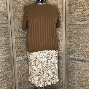 Style& Co Skirt/ Sweater Combo